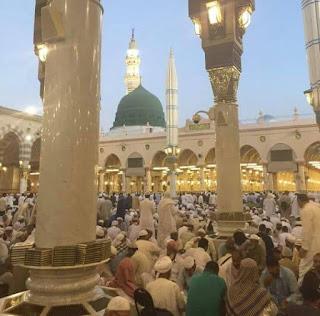 Masjid e Nabi Peace Be Upon Him Madina