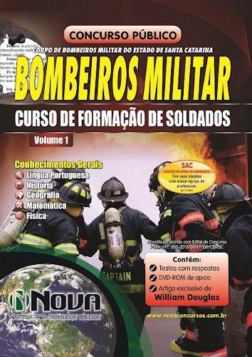 Apostila Corpo de Bombeiros Militar-SC Curso de Formação de Soldados (CBMSC)