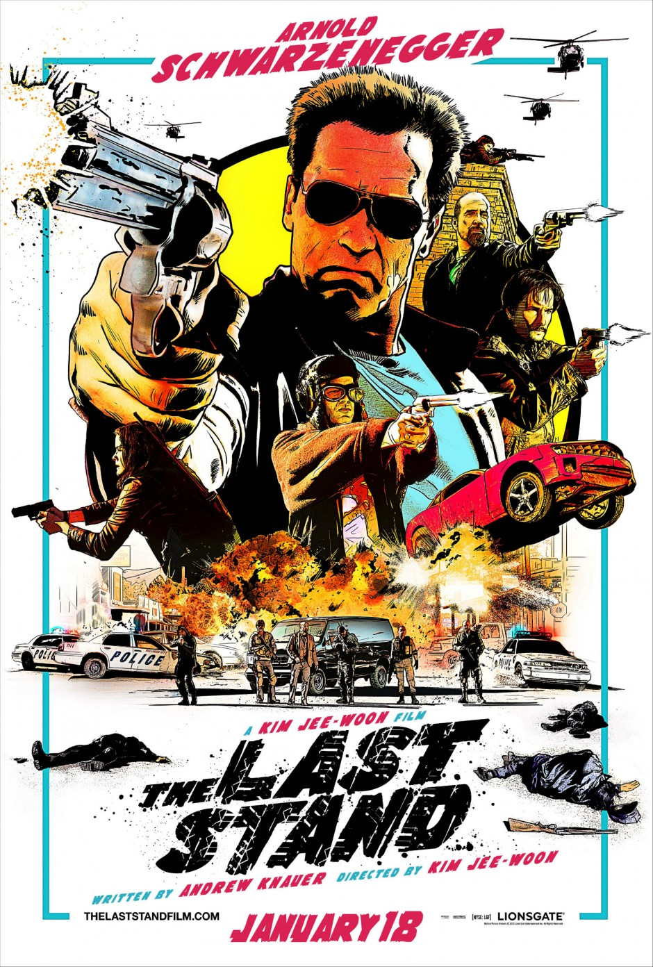 The Last Stand 2013 movie