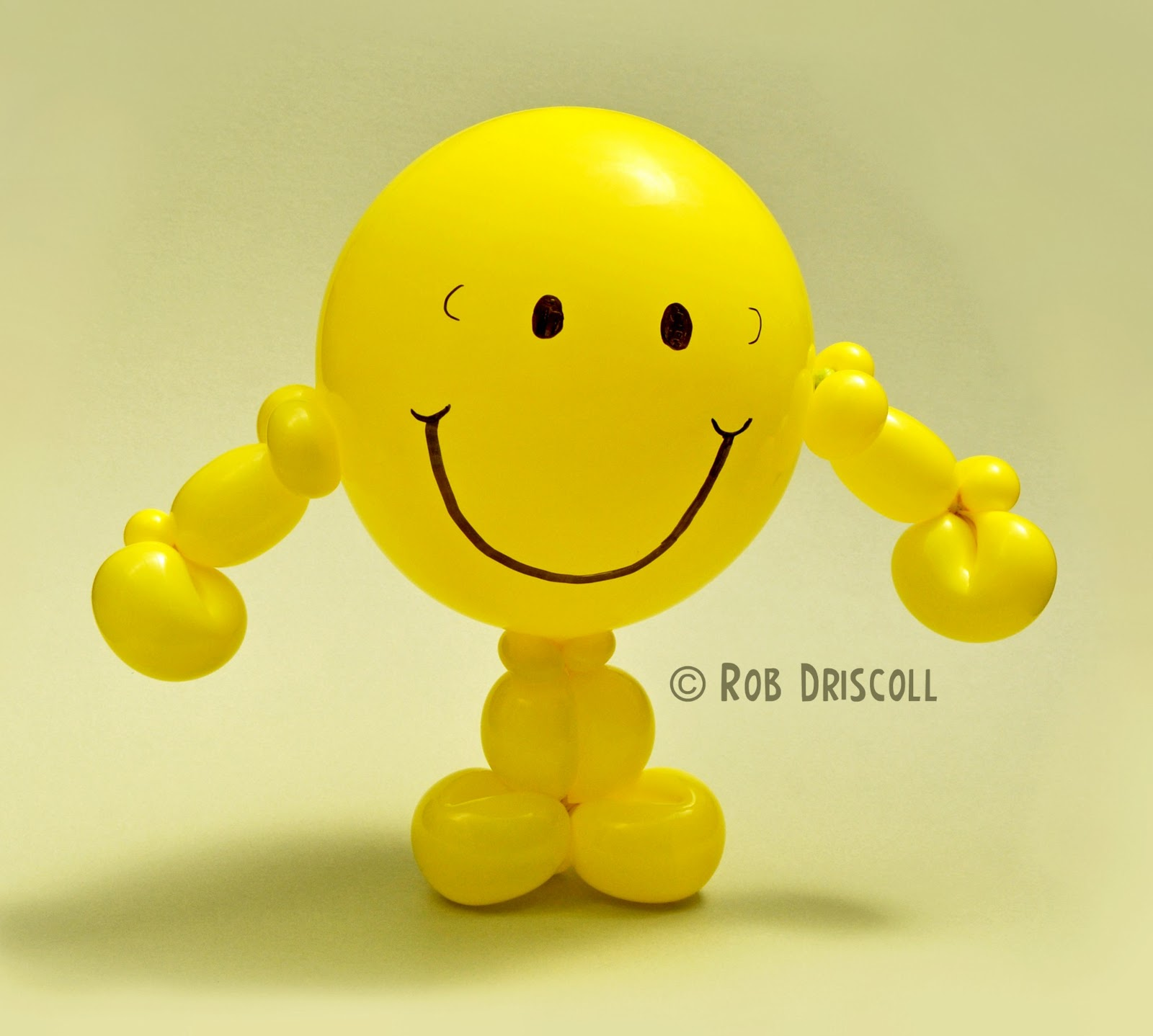 My daily balloon 2nd june mr happy