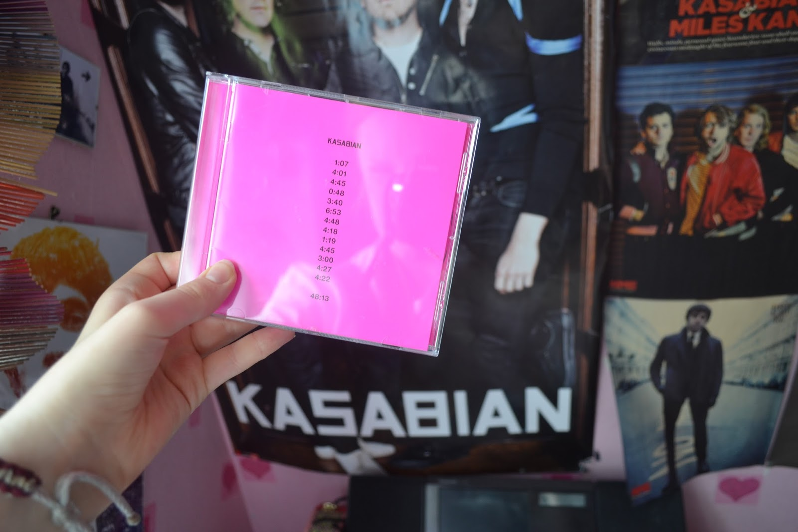 Kasabian 48:13 and Kasabian poster