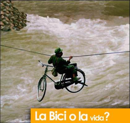 bicicleta o la vida