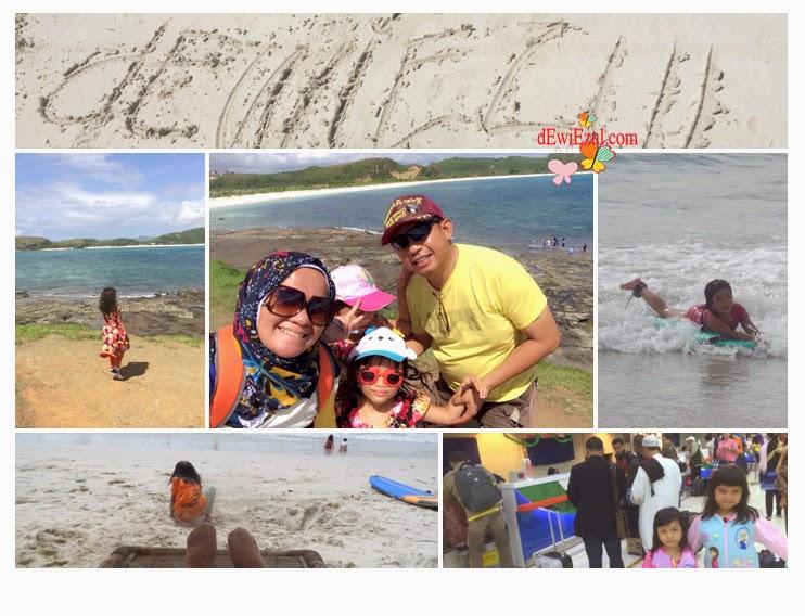 itenary lombok bersama anak-anak,schedule jalan jalan ke lombok