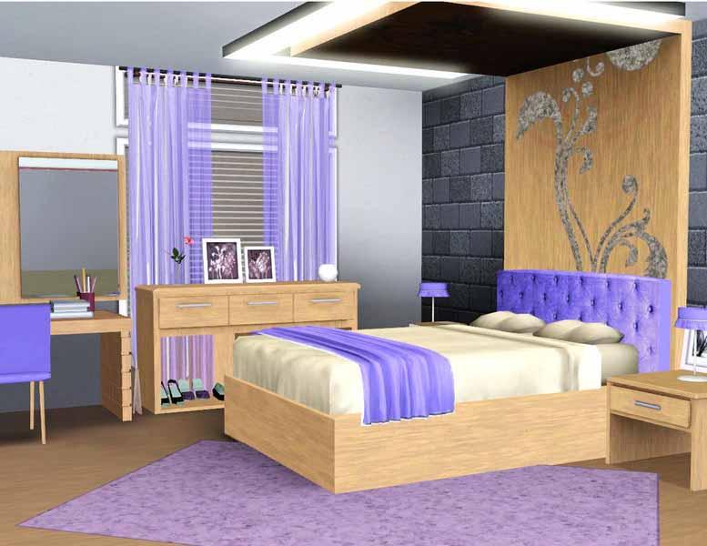 Model Kamar Tidur Anak Remaja Simpel dan Minimalis