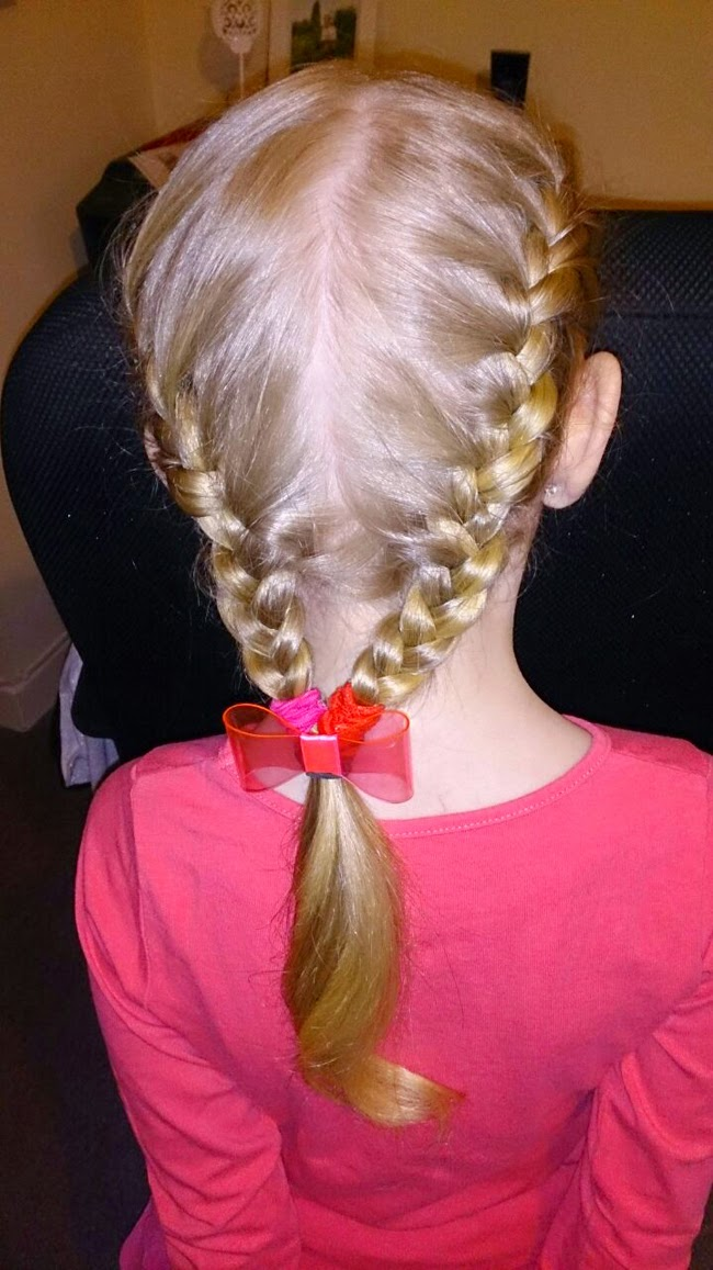 kids hair, little hairdo, family, pink, todaymyway.com, in pictures