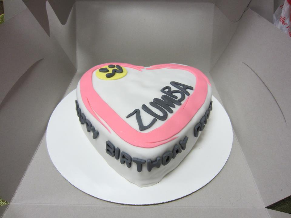 Zumba Birthday Cake http://customcakecreationsbylisa.blogspot.com/2012/03/zumba.html