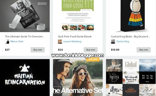 Vende productos digitales en internet con Sellfy