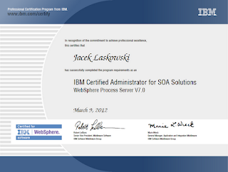 IBM Certified Administrator for SOA Solutions - WebSphere Process Server V7.0
