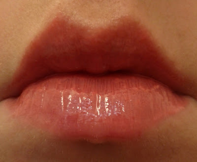 Korres Cherry Gloss - Light Pink over Nars Niagara