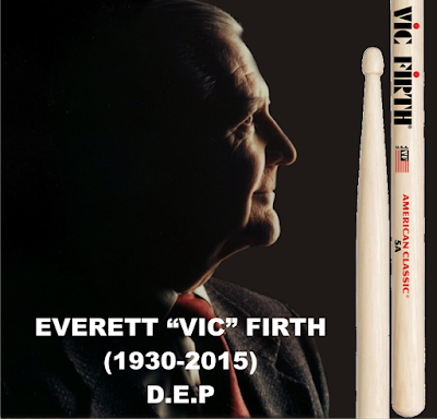 portada massbateria Everett Vic Firth
