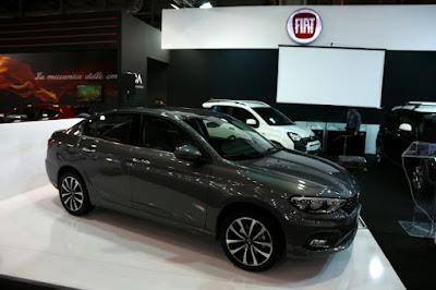 Η πρώτη δημόσια εμφάνιση του νέου Fiat Tipo