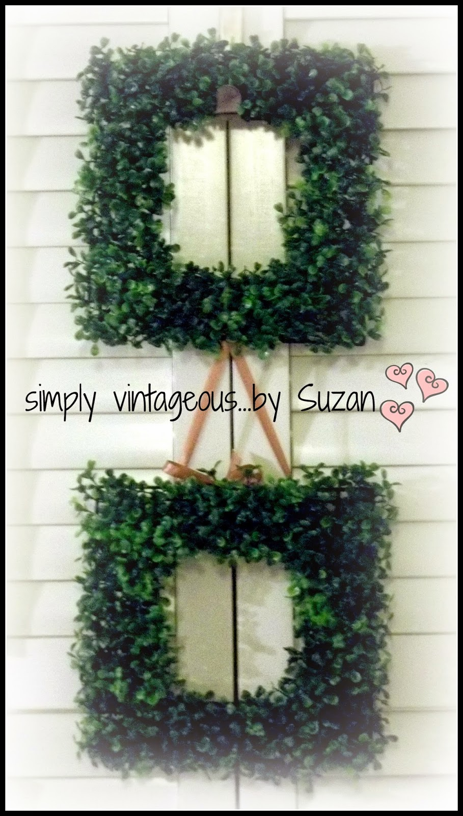 DIY garden decor - cheaply!