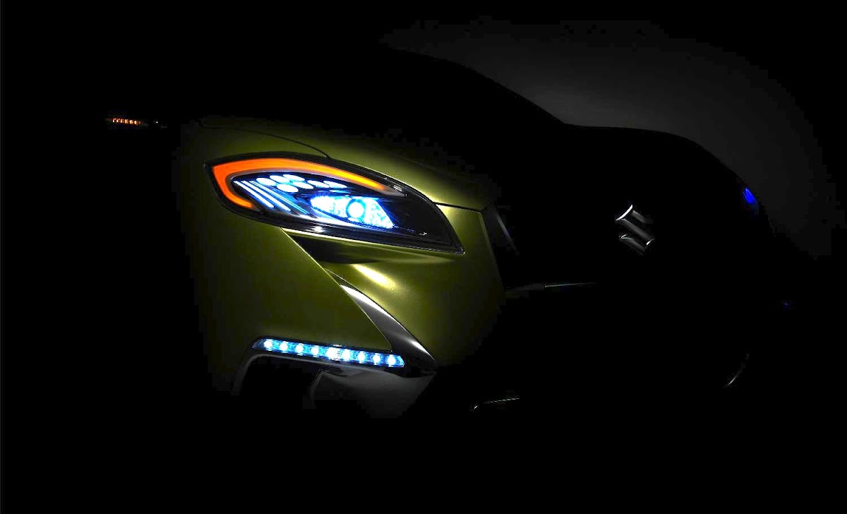 Paris Debut: Suzuki S-Cross teaser