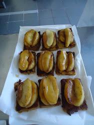Pain Perdue avec des Pommes Carameliseese