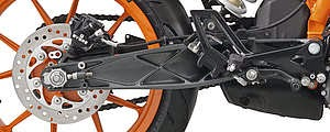 swing arm KTM RC200