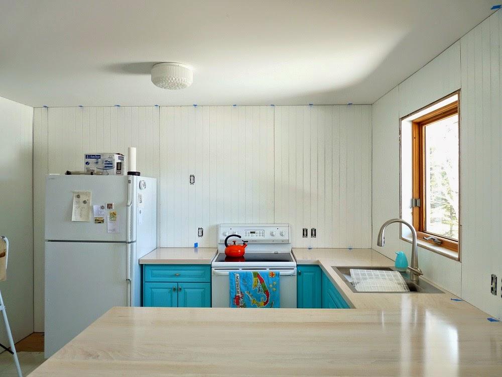 Kitchen Progress: It\'s Panel Time! (Installing Modern Paneling ...