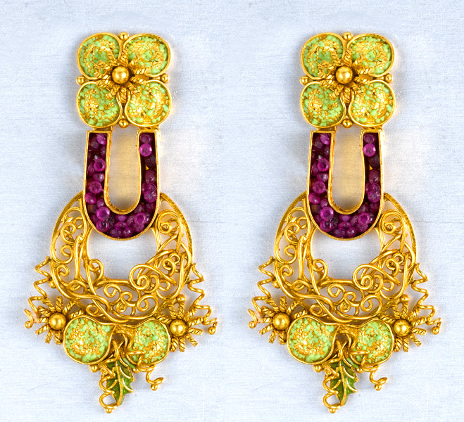 Jos Alukkas Earring Designs