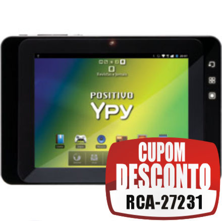 Cupom Efácil - Tablet YPY Positivo 3G Display 7 Android 2.3