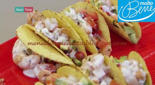 Tacos di gamberi ricetta Parodi per Molto Bene