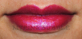 Mememe labial 02 Berry Crush abierto swatch