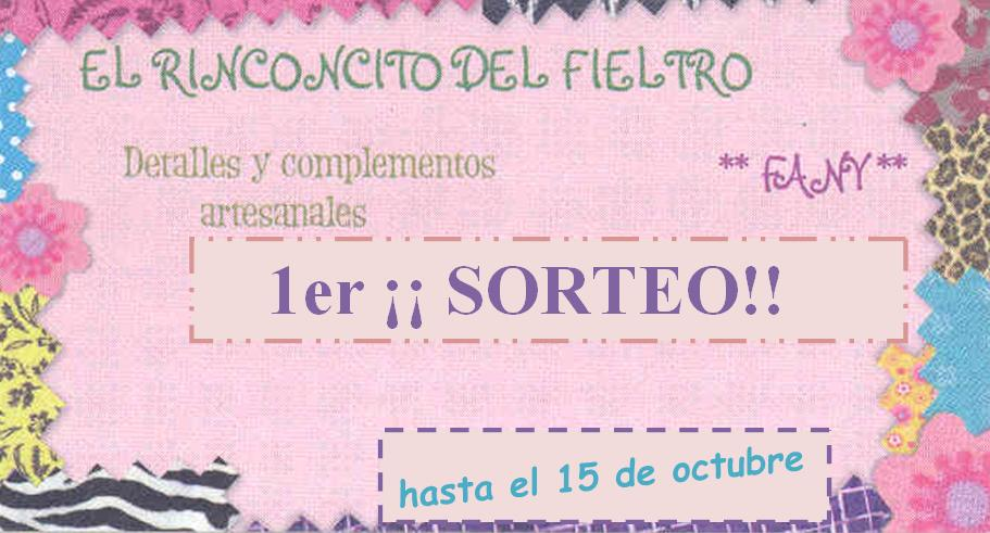 SORTEO EN EL RINCONCITO DEL FIELTRO
