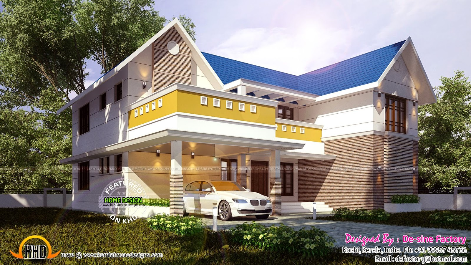 floor plan of 2785 sq ft house kerala home design bloglovin floor plan of 2785 sq ft house