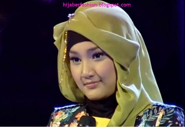Cara Memakai Jilbab Ala Fatin