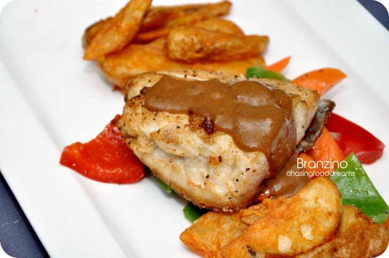 Chasing food dreams wip bangsar shopping center outlet for Cucinare branzino 5 kg