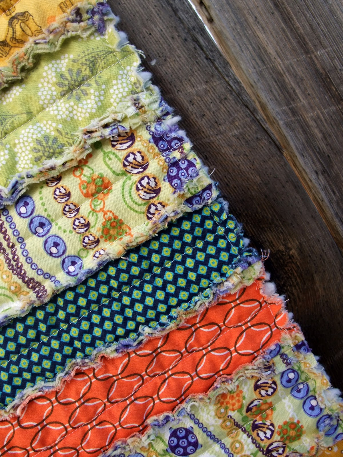 Just Another Hang Up Rag Quilted Table Runner Tutorial