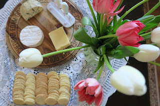 Afternoon tea cheese platter