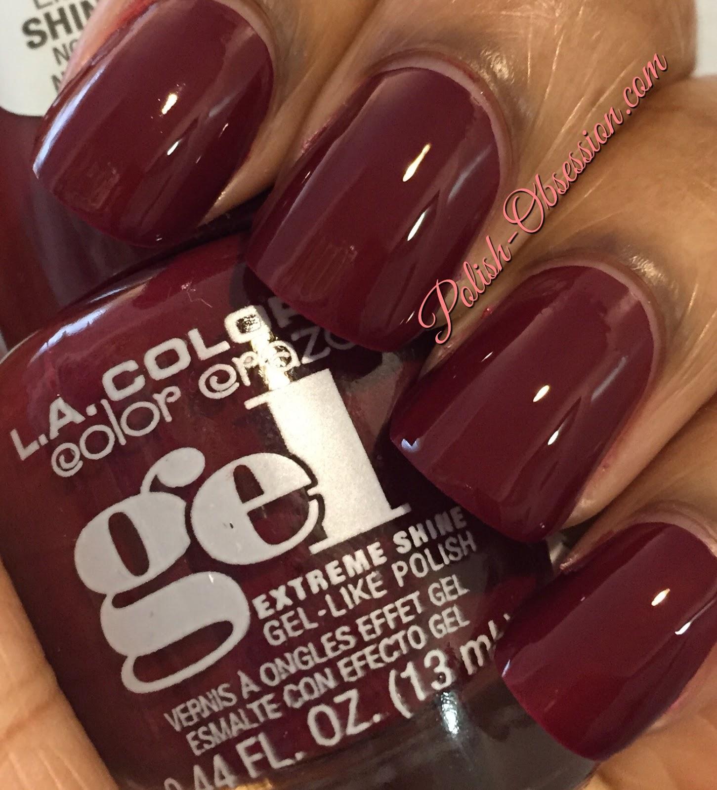 La Girl Gel Nail Polish Review | Hession Hairdressing