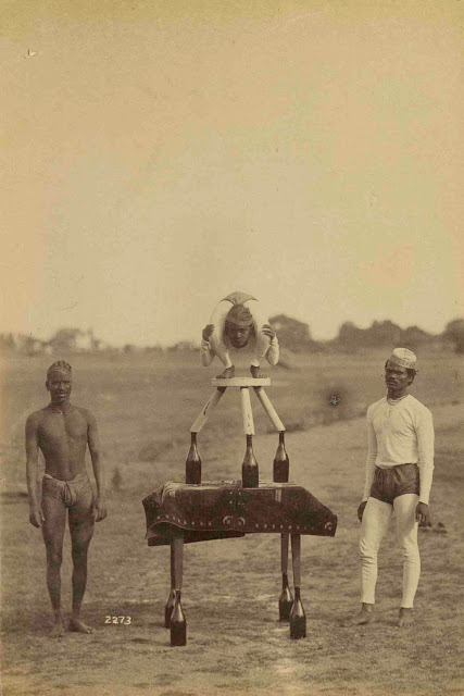 Raja Deen Dayal. Dewas Athletes. India,  1885