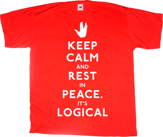 leonard nimoy star trek spock t-shirt ephemeral-t-shirts tribute