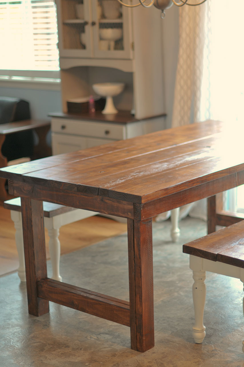 Little Gray Table Farmhouse Table plete
