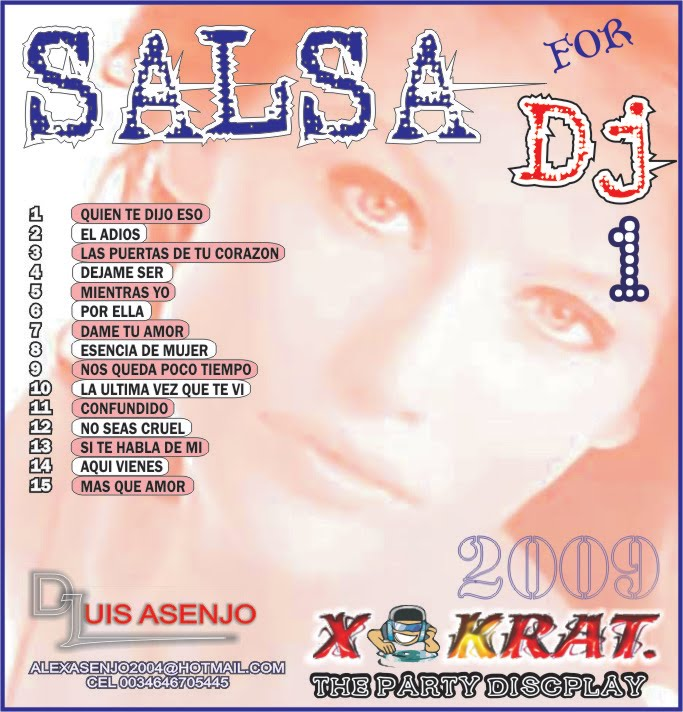 SALSA FOR DJ 2009 vol 1