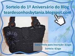 Sorteio do 1° Aniversário do Blog!!!