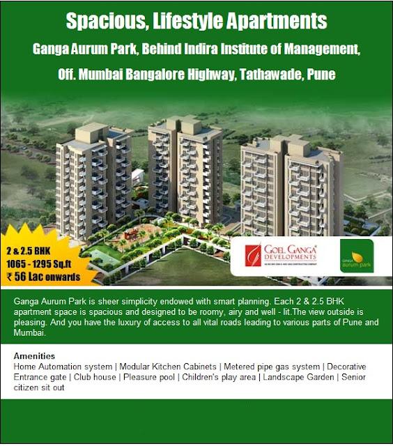 Kitchen Garden Bangalore: Indian Real Estate: Ganga Aurum Park