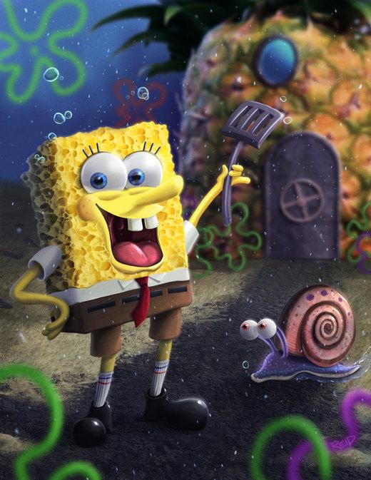 Spongebob por Rahll