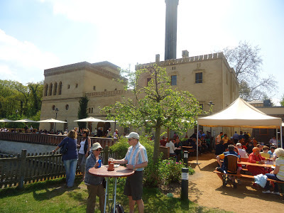 The Meierei beer garden and brevery in Potsdam