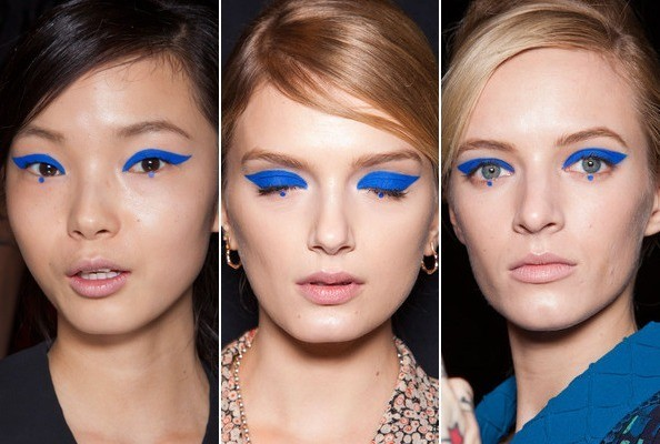 anna sui fall 2012 make up