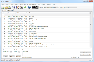 Subtitle Edit 3.3.7 build 1971