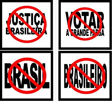 SÍMBOLOS DE UMA GRANDE FARSA, MENTIRA, ENGANAÇÃO.
