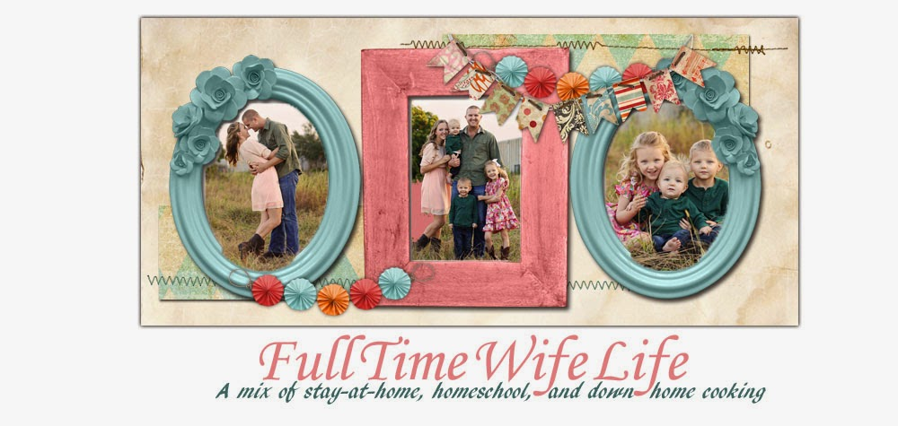 <center>Full Time Wife Life</center>