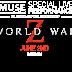 """Se confirma que Muse actuará en directo previo al estreno de """"World War Z"""""""