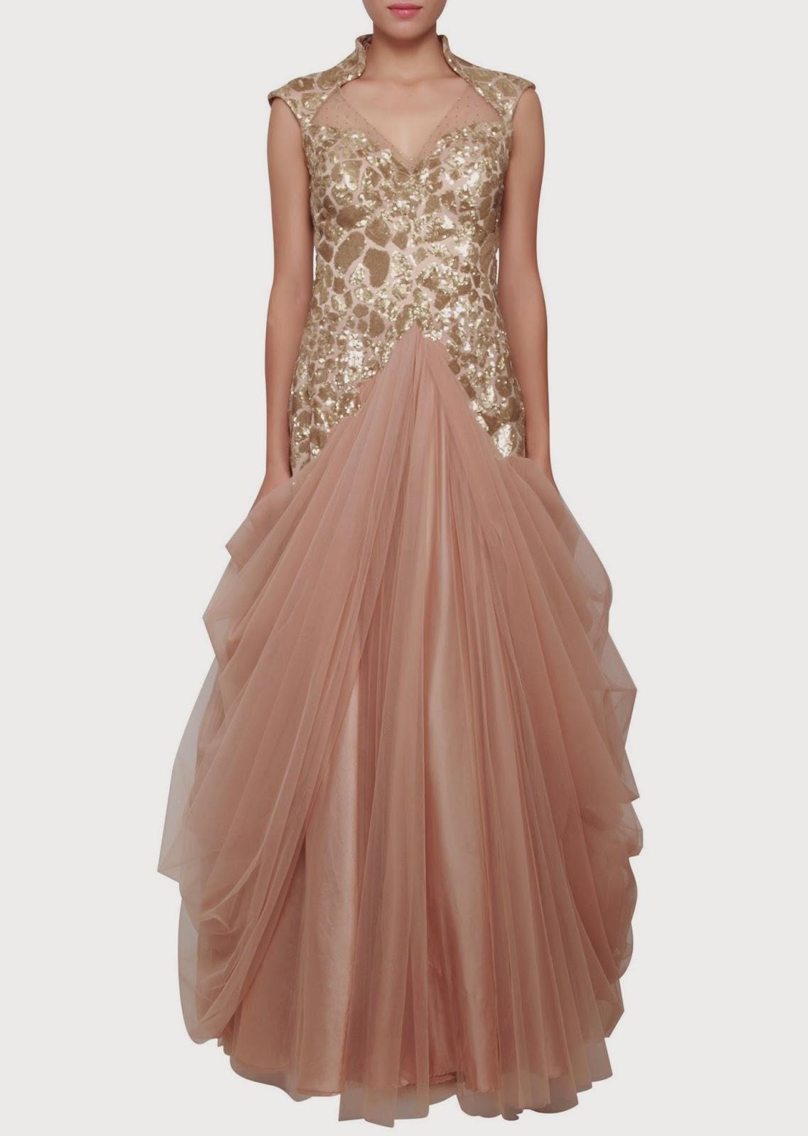 Unique Western Dress For Women 20142015 By Oscar De La Renta  New Party
