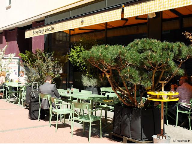 terrasse restaurant poulet purée à Boulogne rotissage rotisserie cantine ThatsMee.fr