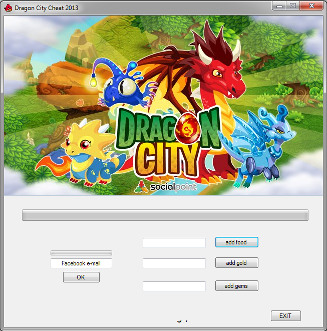 facebook dragon city free hack download hack cheat tool download link