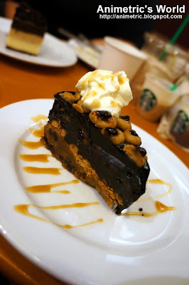 Warm Chocolate Chip Cookie Cake at Starbucks