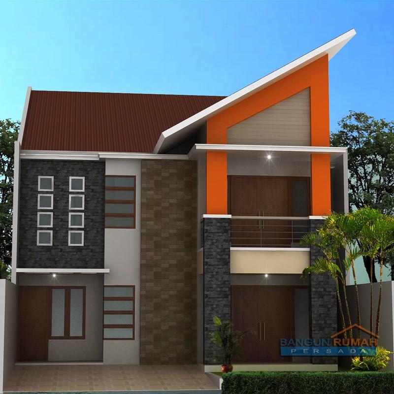 contoh gambar rumah minimalis 2 lantai desain rumah