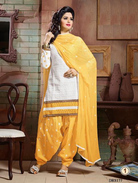 Buy Online Pure Cotton Designer Dress Material